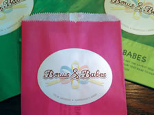 Bow & Babes | Label for Bags and Packages