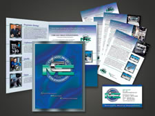 Chicago Mold Engineering | Folder | Brochures & Flyers | Business Cards