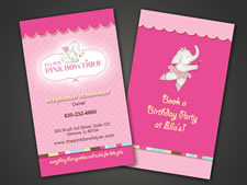 Ellas Pink Bowtique | Business Card