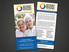 Seniors Helping Seniors | Rack Card